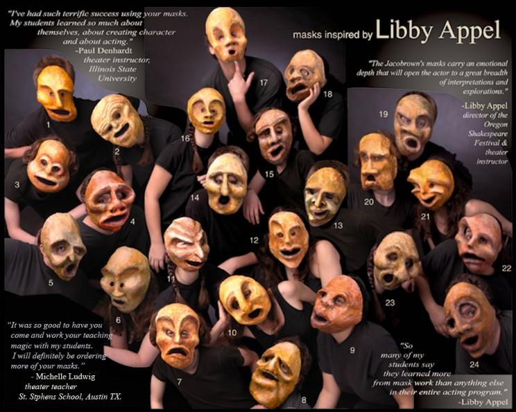 Libby Appel masks for sale